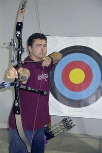 El tirador amb arc Daniel Morillo Prats.