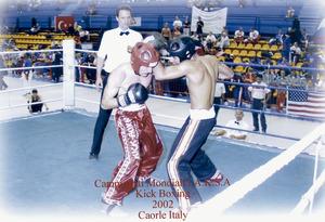 Daniel Muñoz Asencio, campió d´Espanya de kickboxing.