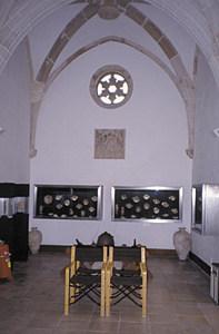 Museu Arqueològic d´Eivissa i Formentera. L´antiga capella del Salvador després de la reforma de 1979. Foto: Jordi H. Fernández Gómez.