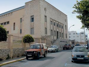 Façana principal del Museu Monogràfic del Puig des Molins. Foto: Vicent Marí.