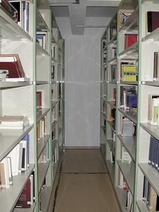 Biblioteca del Museu Monogràfic del Puig des Molins. Foto: Jordi H. Fernández Gómez.