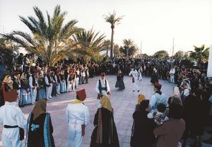 Una festa popular organitzada per l´Obra Cultural Balear de Formentera. Foto Pins.