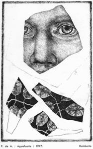 Obra del pintor xilè Luis Humberto Pérez.