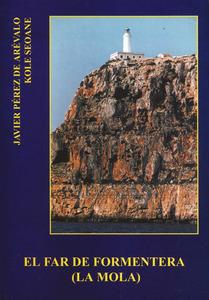 Portada d´El<em> far de Formentera</em>, obra de Francisco Javier Pérez de Arévalo López.