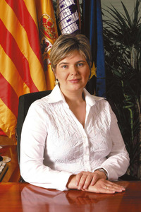 La política Catalina Palau Costa. Foto: Rafa Domínguez.