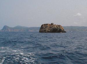 Es Palleret, a la costa de la vénda de Dellà Torrent, del poble de Sant Agustí des Vedrà. Foto: Felip Cirer Costa.