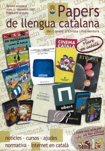 Sergon número de la revista semestral <em>Papers de llengua catalana</em>.