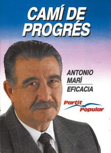 Cartell electoral del Partit Popular de les eleccions autonòmiques de 1991.