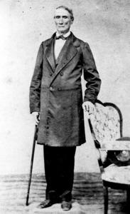 El metge Sebastià Llombart Riera, seguidor del Partit Progressista durant la regència d´Espartero. Foto: Arxiu Històric Municipal d´Eivissa.