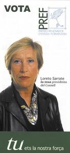 Cartell electoral del Partit Renovador d´Eivissa i Formentera a les eleccions de 2003.
