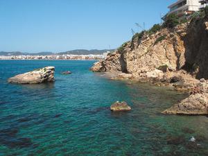 Es Pas Estret, a migdia del puig des Molins, a la costa del municipi d´Eivissa. Foto: Felip Cirer Costa.