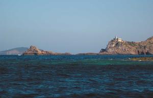 L´escull des Pas, a l´extrem del far Vell de sa Cala. Foto: Felip Cirer Costa.
