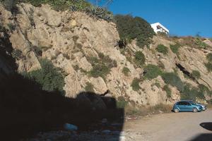 Al sud del puig des Molins (Eivissa) hi ha una altra antiga pedrera coneguda com sa Pedrera. Foto: Felip Cirer Costa.