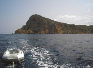 Ses Pedrisses, a la costa de Corona, entre sa Galera del cap Nunó i ses Fontanelles. Foto: Felip Cirer Costa.