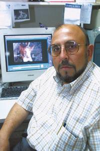 El periodista, editor i etòleg Antoni Pedro Marí. Foto: Joan Antoni Riera.