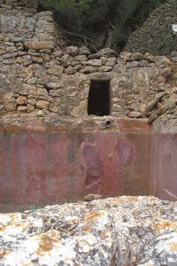 La font de sa Pega, situada a migjorn del puig de sa Pega. Foto: Felip Cirer Costa.