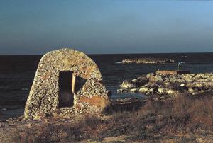 El pou d´en Pelegrí o de ses Illetes, a l´illa de Formentera. Foto: David Carrera Bonet.