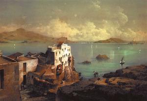 """El gravat de l'arxiduc Lluís Salvador (1868) mostra l'entrada al port d'Eivissa, entre l'extrem oriental de sa Penya i el far des Botafoc (en servei des de 1862). Destaquen les """"cases penjades"""", a ponent de les quals encara quedaven restes de l'antic molí de sa Torre, vora el carreró de l'Estrella, que pujava a la placeta on llavors era instal·lada la casa quarter de la Guàrdia Civil. El front marítim de baix sa Penya s'havia usat com<br />a llatzeret per als vaixells en quarantena, mentre mercaderies i tripulants eren desembarcats al de s'illa Plana.En temps de l'arxiduc era ja emprat com a lloc de bany. Extret de <em>Les Antigues Pitiüses</em>."""