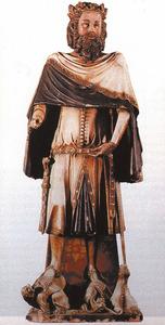 Pere III el Cerimoniós, rei d´Aragó, de València i de Sardenya, i rei de Mallorca a partir de 1343. Foto: extret d´<em>Els reis de Mallorca</em>.