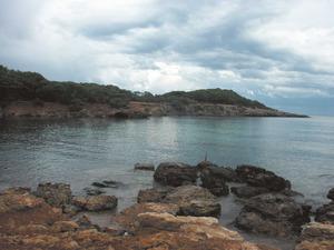 La punta de Perella, al NE de la punta d´Arabí. Foto: Felip Cirer Costa.