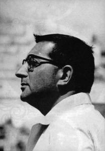 Retrat del periodista i novel·lista Jacques Peuchmaurd.
