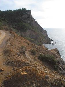 La punta des Pinet, al cap Roig de Sant Carles de Peralta. Foto: Felip Cirer Costa.