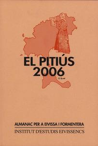Portada d´un exemplar d´<em>El Pitiús</em>, ja editat per l´Institut d´Estudis Eivissencs.