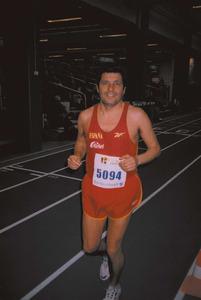 El periodista, folklorista i atleta Vicent Planells Cardona.