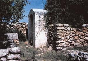 Capelleta de l´aljub del Poble, a la Mola. Foto: Joan Marí Cardona.