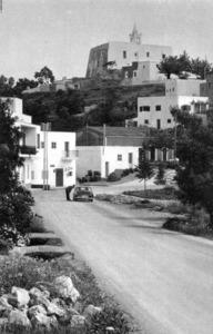 Es Poble, nom que es donava al grupet de cases vora alguna església parroquial, com és el cas de Sant Miquel de Balansat. Extret d´<em>Ibiza</em>.