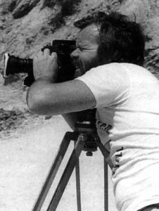 El fot&ograve;graf i cineasta canadenc Brian Pollard. Extret d´<em>Eivissa-Ibiza: l´illa d´un temps</em>.