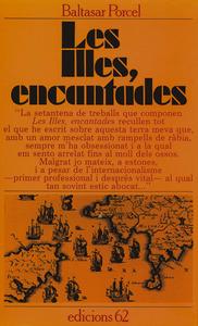 Portada del llibre <em>Les Illes, encantades</em>, de Baltasar Porcel i Pujol, que inclou diverses narracions de temàtica pitiüsa.
