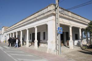 Can Portmany, abans de la seua reinauguració com a centre sociocultural a Sant Rafel de sa Creu. Foto: Joan Antoni Riera.