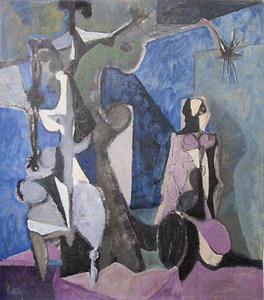 Douglas Portway. Reproducció d´una obra d´aquest pintor sud-africà.