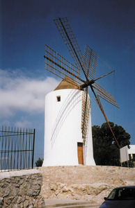 El molí des Porxet restaurat. Foto: Joan Josep Serra Rodríguez.