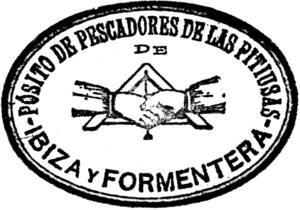 Anagrama del Pòsit de Pescadors de les Pitiüses.