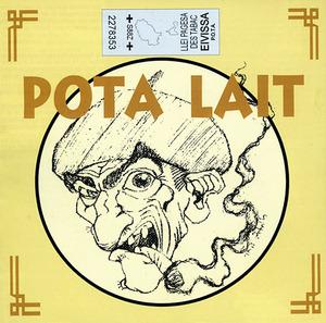 Portada del prijmer CD de Pota Lait, editat el 2001.