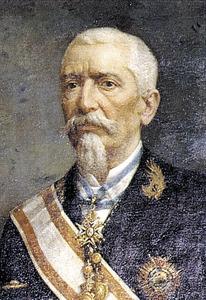 L´enginyer Emili Pou Bonet, autor del projecte del port d´Eivissa de 1889. Cortesia de la <em>Gran Enciclopèdia de Mallorca</em>.