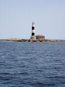 L´illa d´en Pou o des Porcs, a la zona des Freus, entre Eivissa i Formentera. Foto: Felip Cirer Costa.