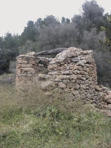 El pou des Pouàs, a la vénda de Sant Gelabert, del poble de Santa Agnès de Corona. Foto: Felip Cirer Costa.