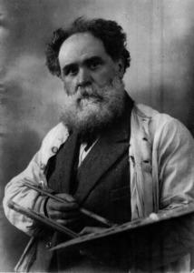 Autoretrat del pintor i fotògraf Narcís Puget Viñas.
