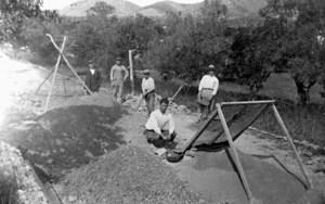 Necròpolis del Puig des Molins. Excavacions a l´antic camí de Sant Josep entre els anys 1926-29. Foto: Narcís Puget.