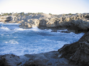 Vénda de sa Punta. El racó des Fornet, entre s´Abeuradeta i la punta Prima. Foto: Vicent Ferrer Mayans.