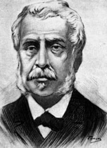Josep Maria Quadrado i Nieto, historiador, escriptor i publicista menorquí. Cortesia de la <em>Gran Enciclopèdia Catalana.</em>