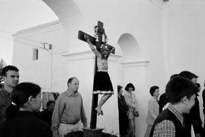 Els últims dies de la Quaresma se celebren passos i processons. Passos de Sant Miquel de Balansat. Föto: Guillem Riera.
