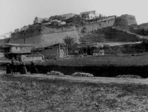 Sa Quintana era el solar situat a ponent del passeig de Vara de Rey on, entre altres, hi havia la gallera de la ciutat d´Eivissa. Foto: Narcís Puget Viñas.
