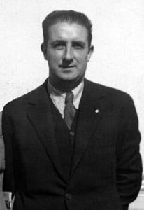 Josep Ramon Ferragut, primer àrbitre de futbol eivissenc de primera divisió.