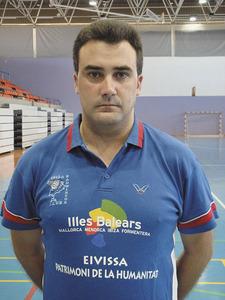 El jugador i entrenador de bàdminton Álvaro Rangil Labodía.