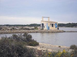 Es Ranxo, a les salines de Formentera. Foto: Vicent Ferrer Mayans.