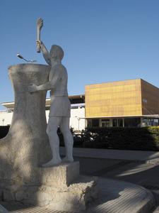Es Raspallar. Les instal·lacions esportives del Consell Insular. Foto: EEiF.